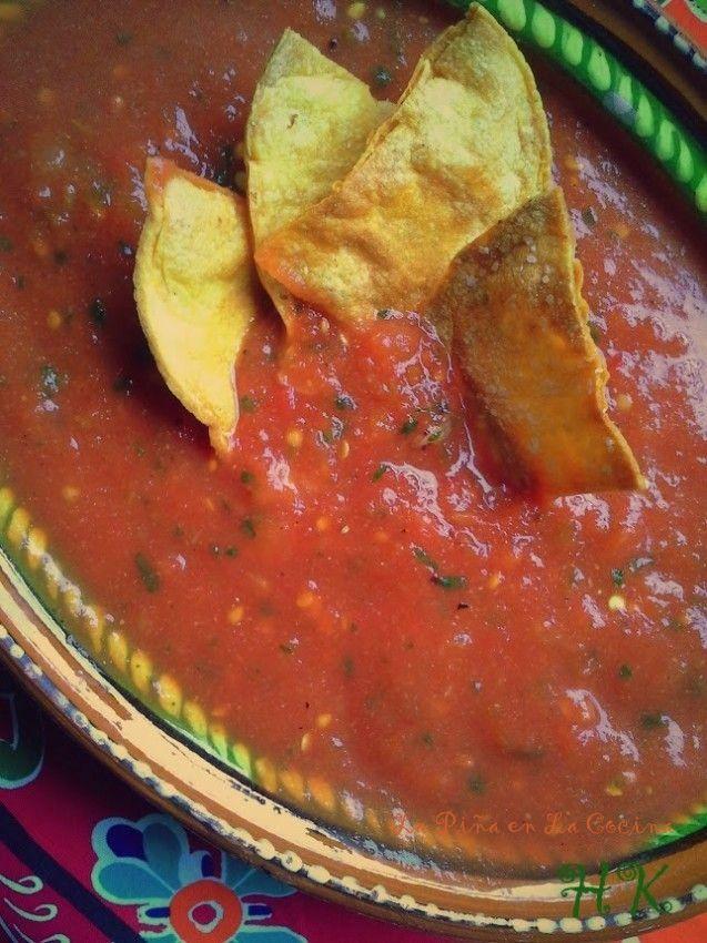 Texas Tomato Jalapeño Salsa-Tacos de Fideo
