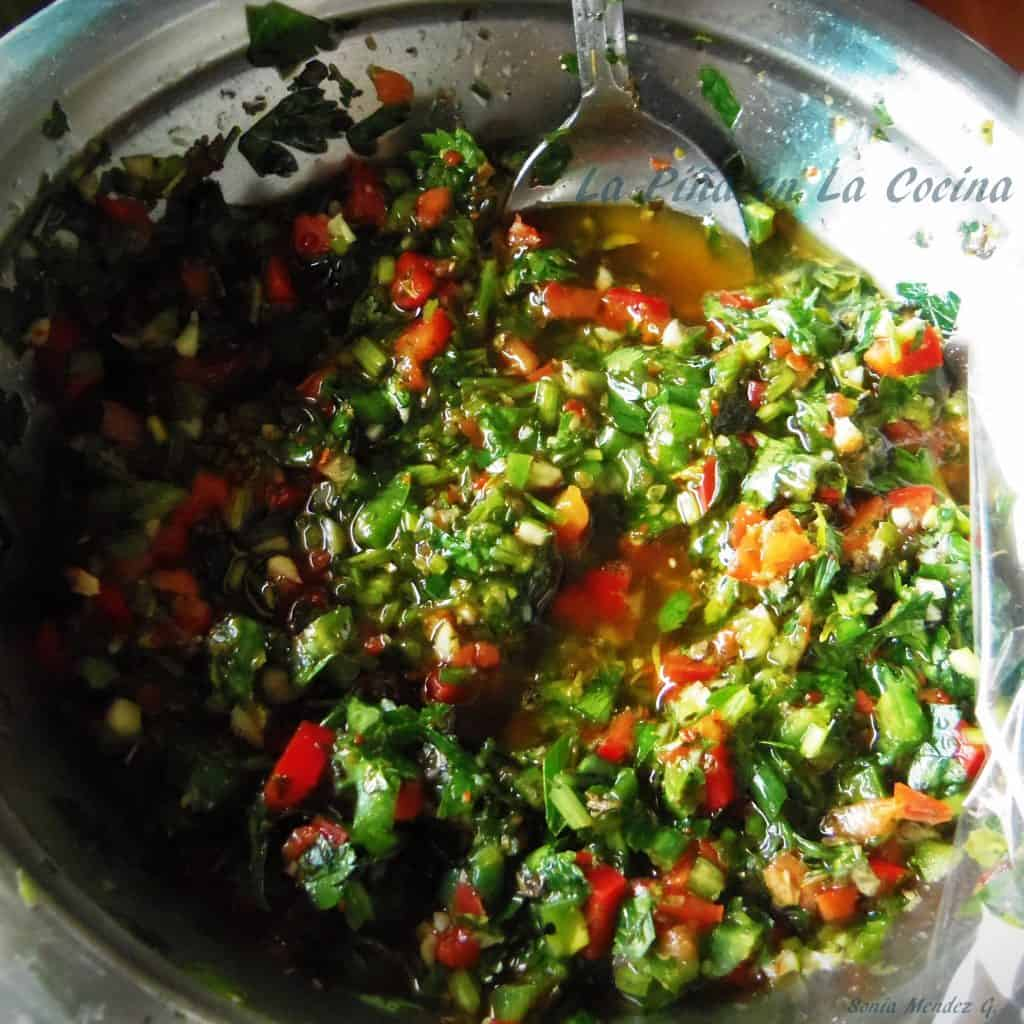 Learning To Prepare Chimichurri