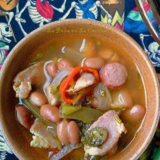Frijoles Charros con Salchichas (Mexican-Style Beans)