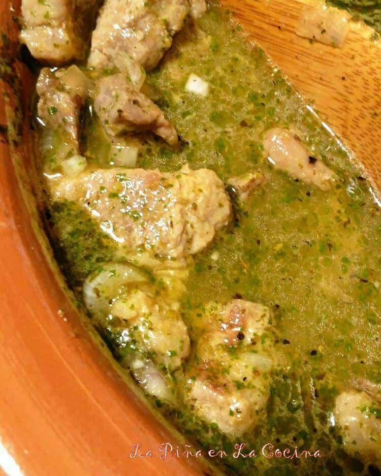 Green Chile Pork Pozole