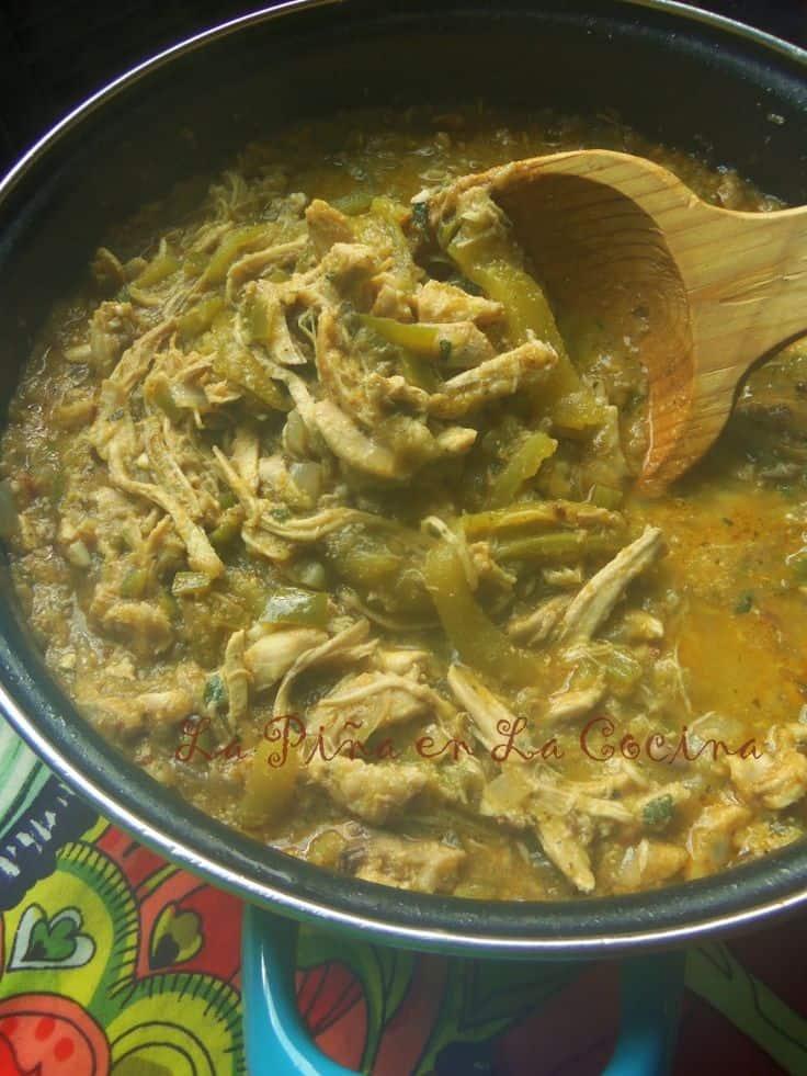 Chicken Chile Verde #greenchile