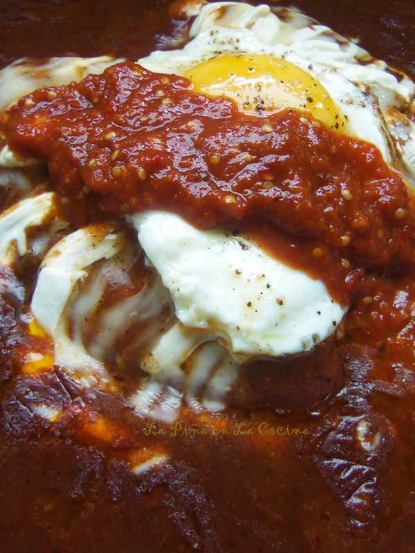 Tlacoyos-Easy Enchilada Sauce