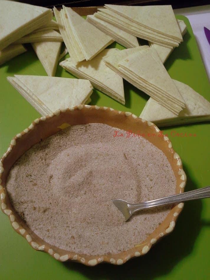 Baked Buñuelo Chips