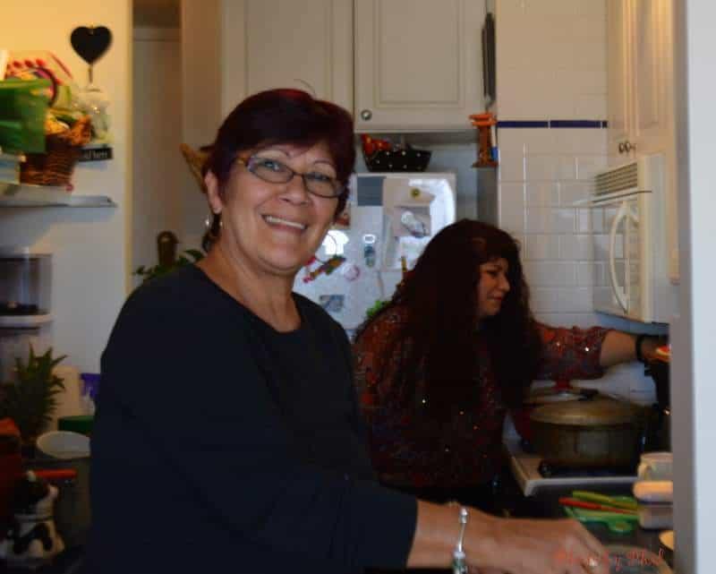 Two Food Bloggers Preparing Tamales