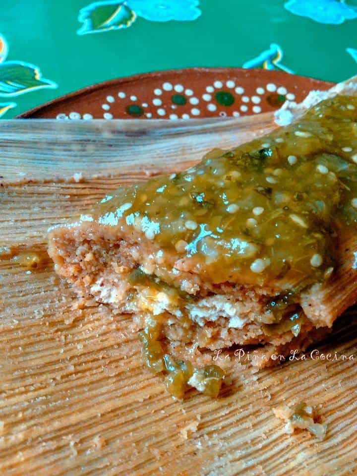 Rajas con Queso Tamal #rajasconquesotamal #tamales