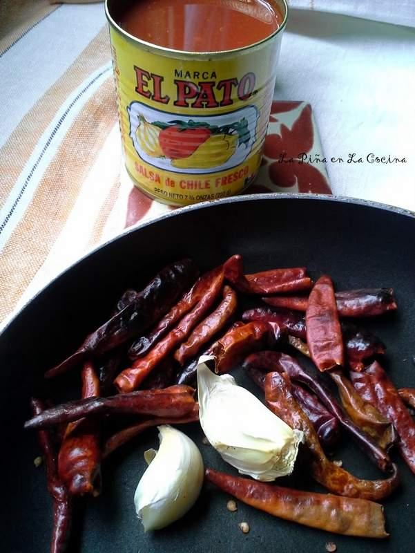Salsa El Pato-Mexican-Style Tomato Sauce