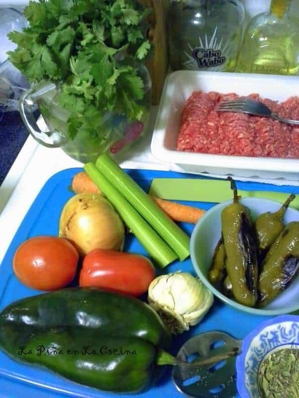 Beef Chili with Roasted Jalapeño and Chile Pasilla