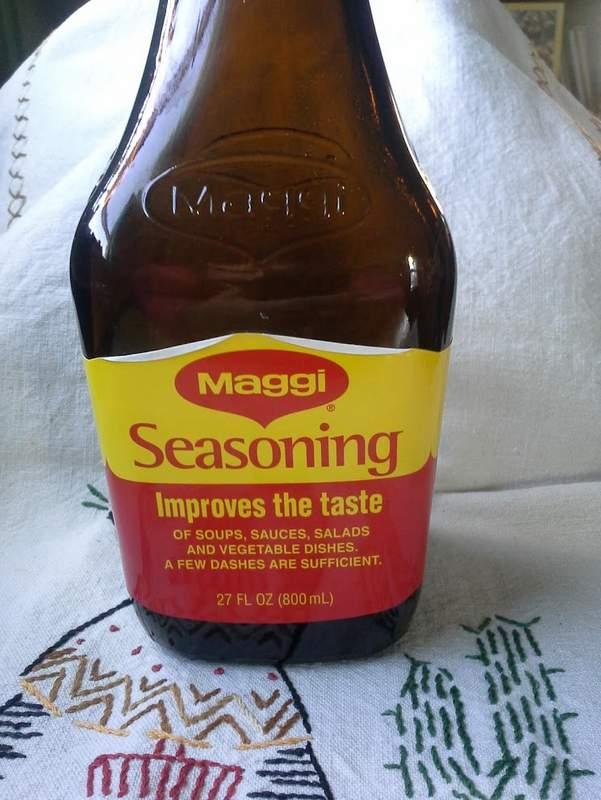 Maggi Sauce-Seasoning