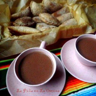 Atole de Chocolate~ Maizena
