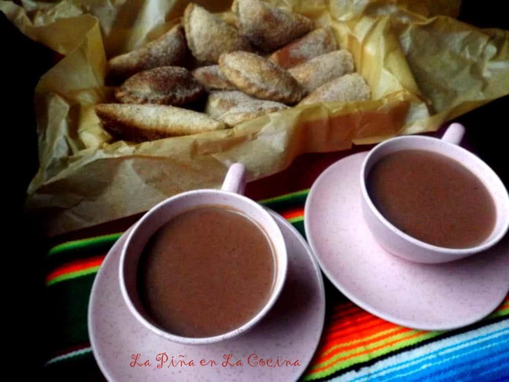 Atole de Chocolate(Maizena)