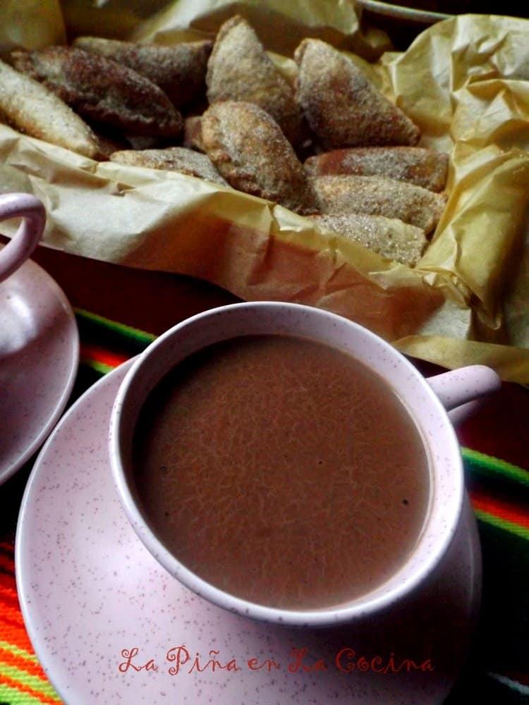 Atole(Maizena) de Chocolate