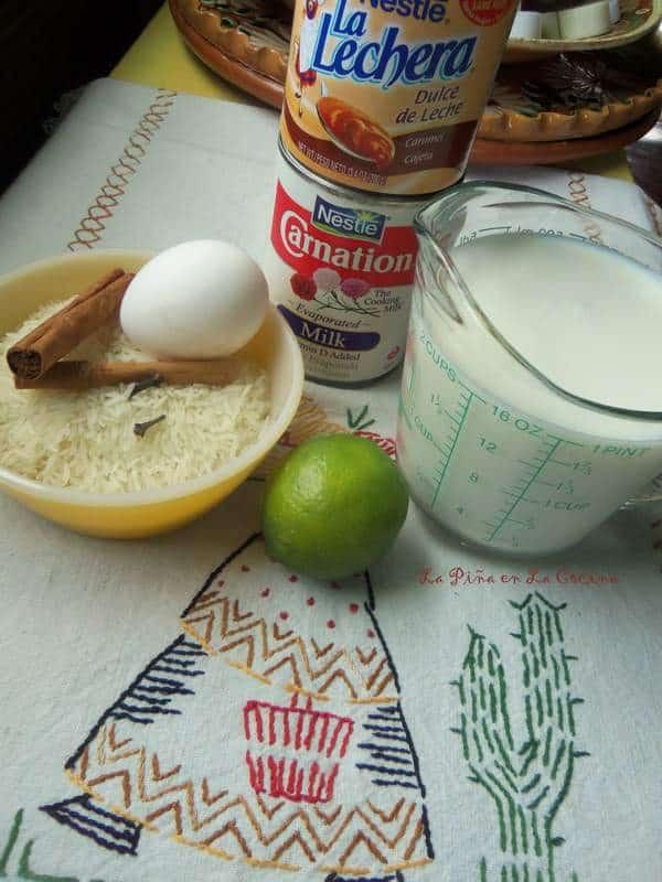 Arroz Con Leche-Rice Pudding