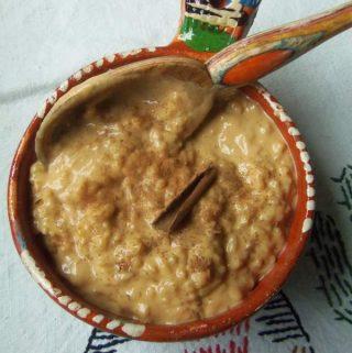Arroz Con Leche~Rice Pudding with Dulce de Leche