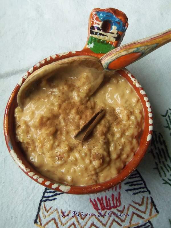 Arroz Con Leche-Rice Pudding with Dulce de Leche