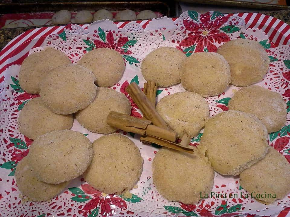 Polvorones-Mexican Cookies