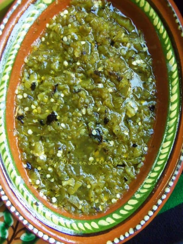 Charred Jalapeno Salsa