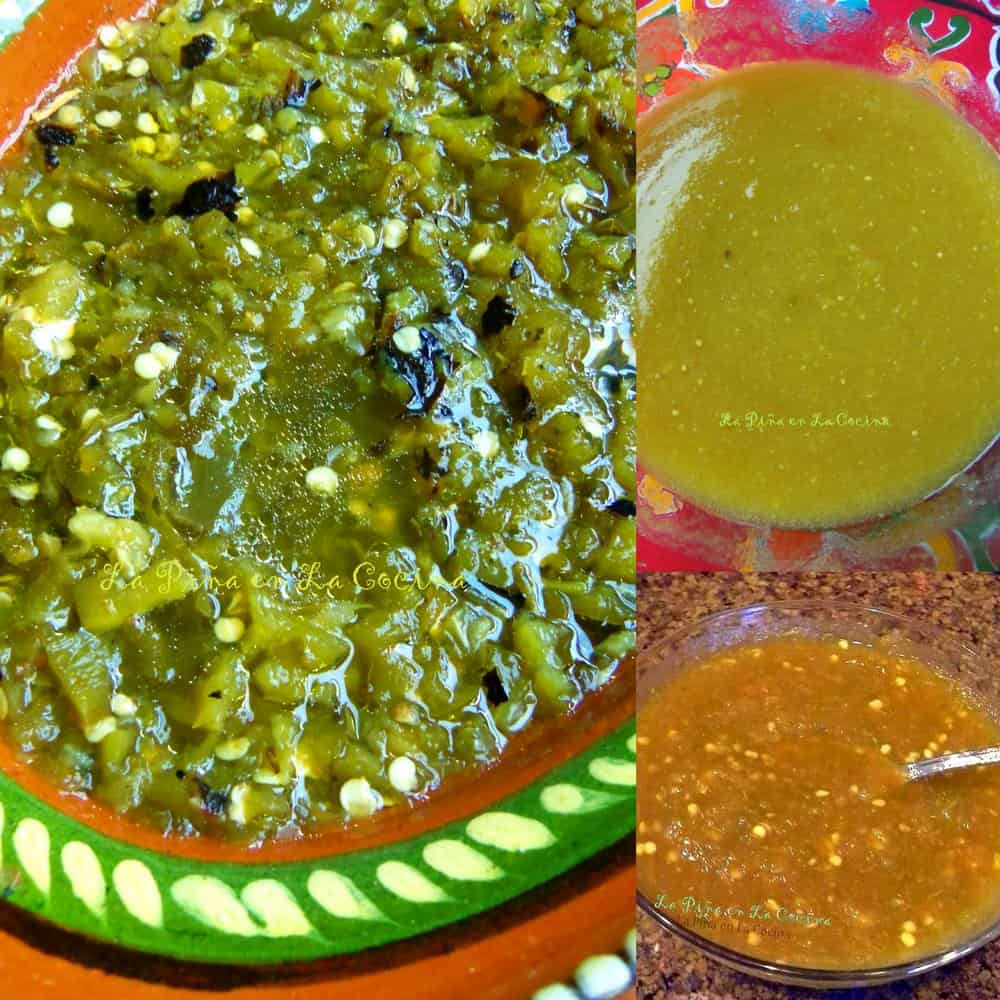 Salsa Verde Three Ways #salsaverde