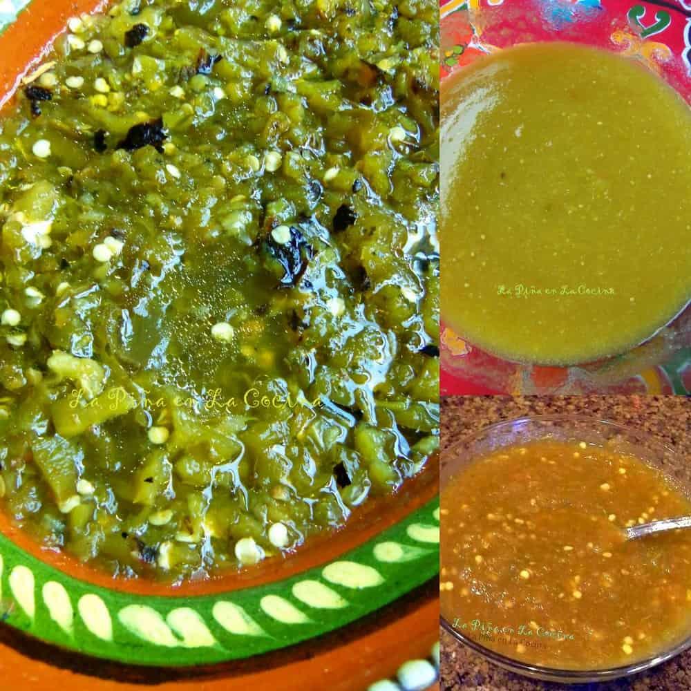 Salsa Verde Three Ways #salsaverde