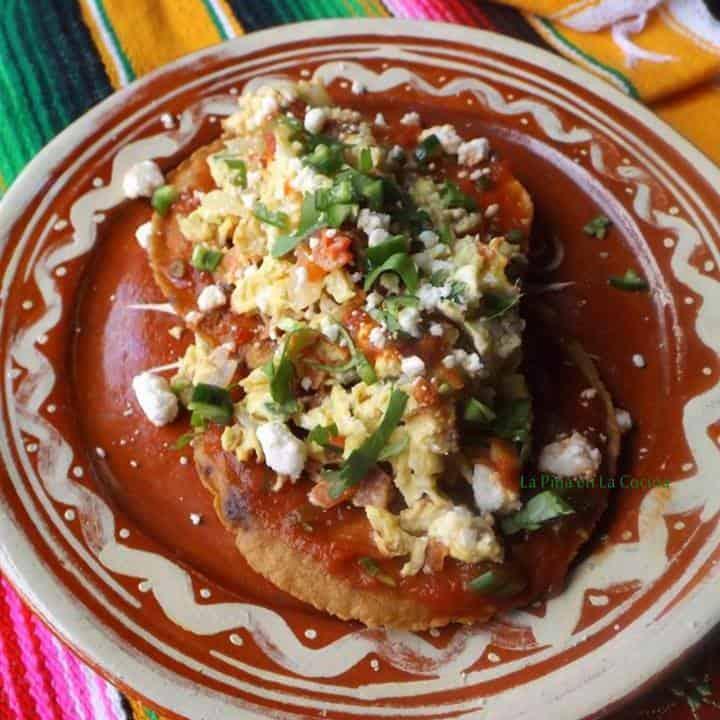 Huevos a La Mexicana-Mexican-Style Scrambled Eggs
