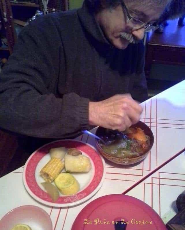Caldo de Res(Mexican-Style Beef Soup) #RumbaMeats