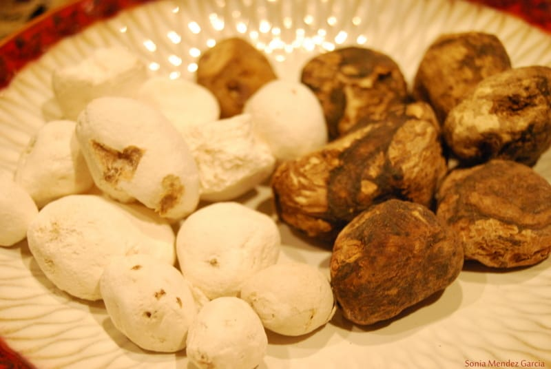 Chuño or Tunta-Bolivian Dehydrated Potatoes