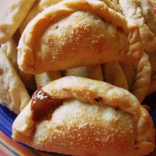 Mango and Dulce de Leche Empanadas