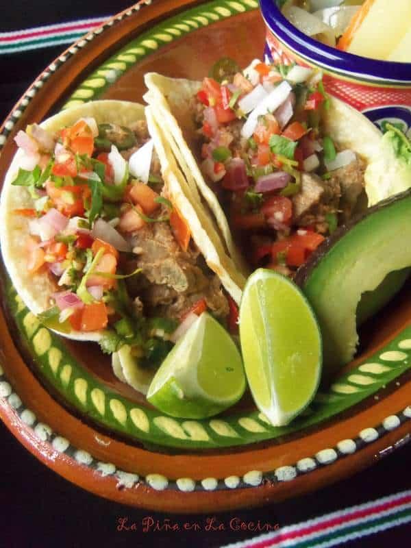 Tacos de Lengua-Beef Tongue Tacos(Rumba Meats)