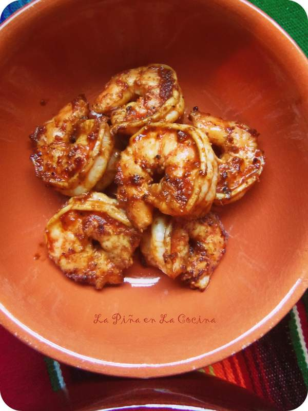 Chipotle Shrimp~Dinner For Two
