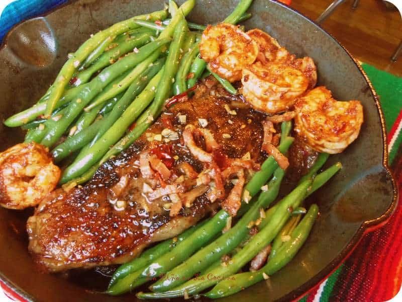 Steak and Shrimp~Dinner For Two