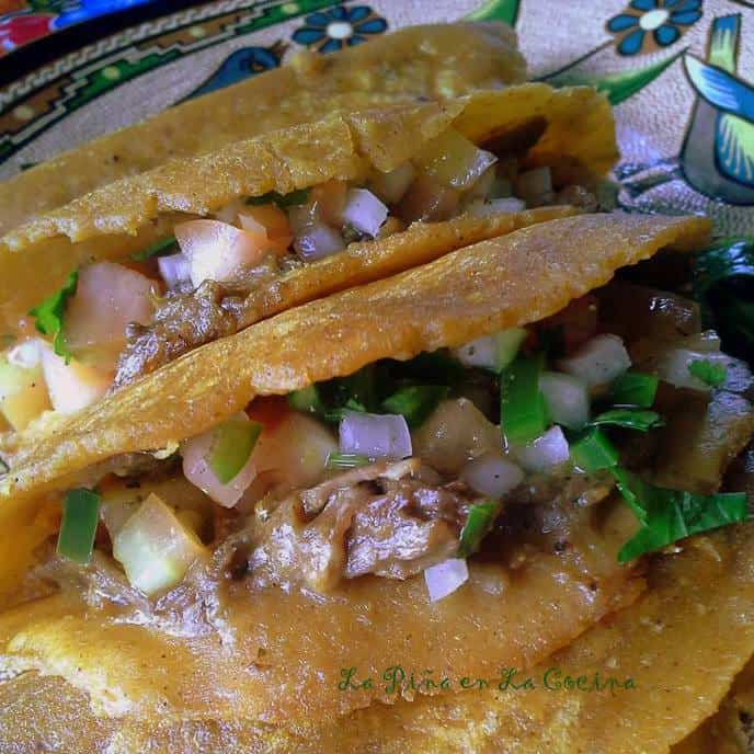 Green Chile Duck Tacos