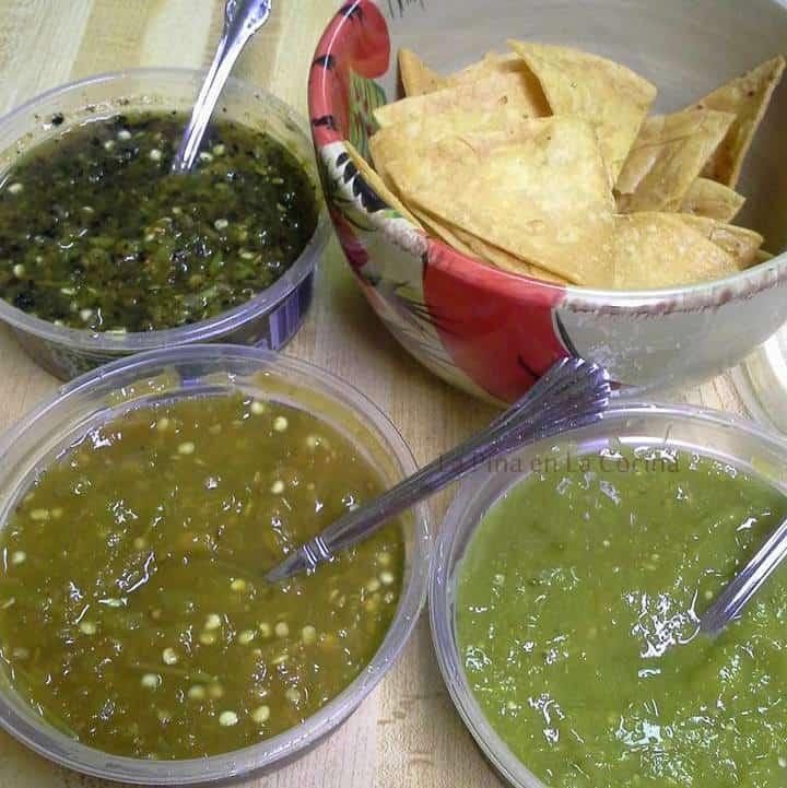 Salsa Verde-Three Ways