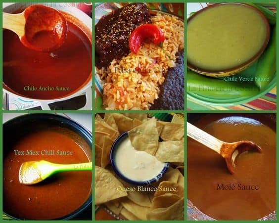 Five Mexican Inspired Sauce Recipes