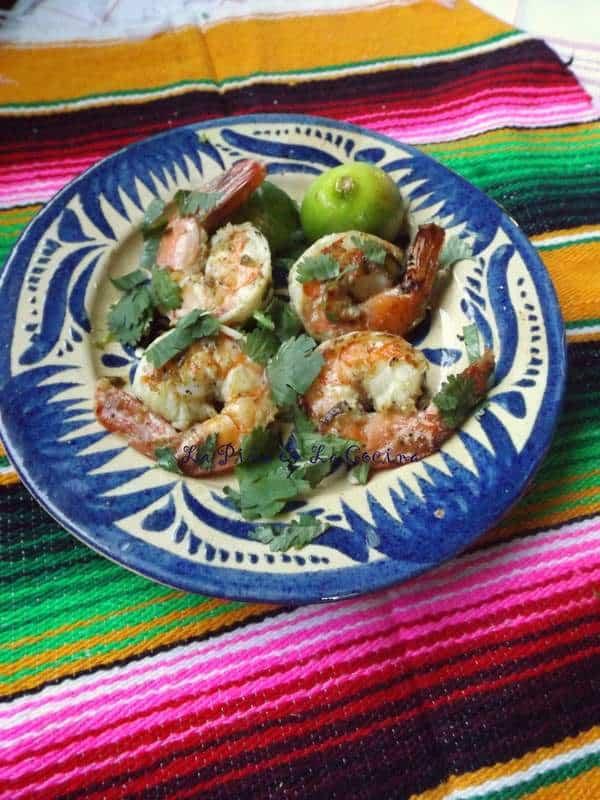 Camarones a la Plancha-Jalapeño Garlic Mojo Shrimp