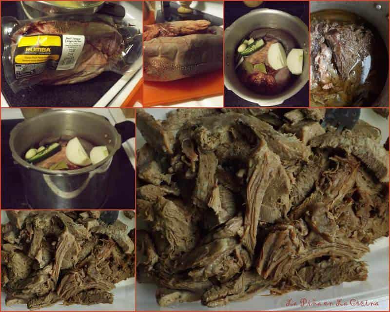 Tacos de Lengua-Beef Tongue Tacos (Rumba Meats) collage