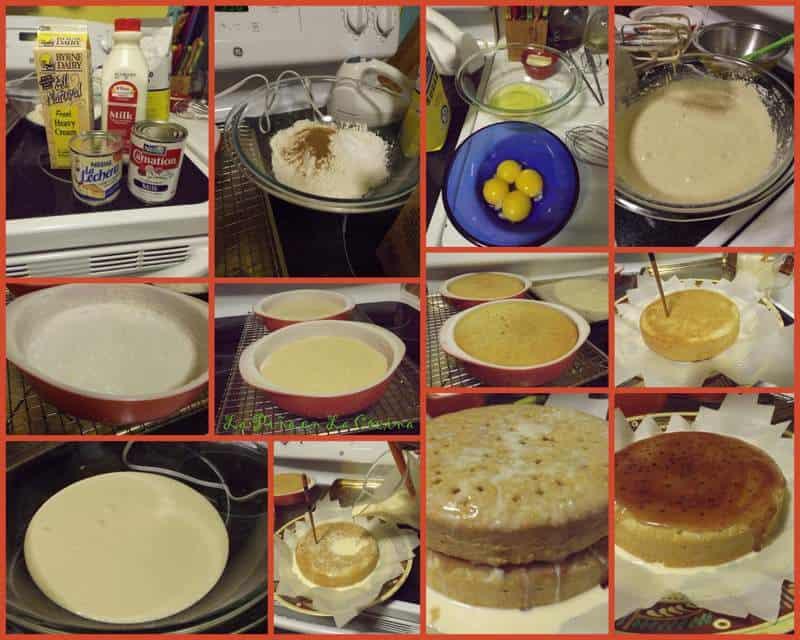 Pastel de Tres Leches(Three Milk Cake)
