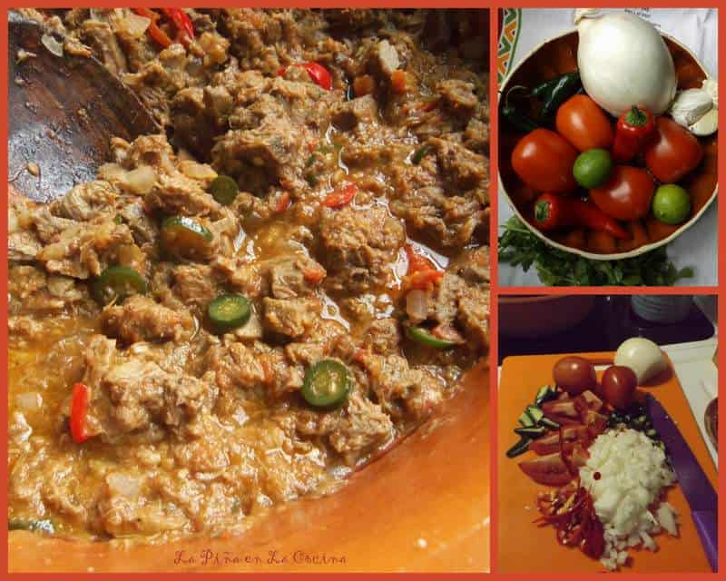 Guisado de Lengua-Beef Tongue in a Fresh Tomato Salsa