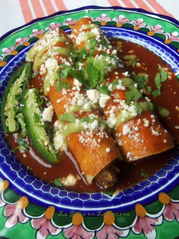 Easy Mexican-Style Chorizo~Breakfast-Brunch Enchiladas ...