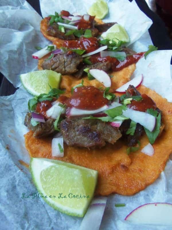 Carnitas de Res Al Vapor-Tacos