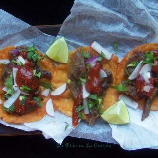 Carnitas de Res Al Vapor~Tender Rib-Eye Beef Carnitas