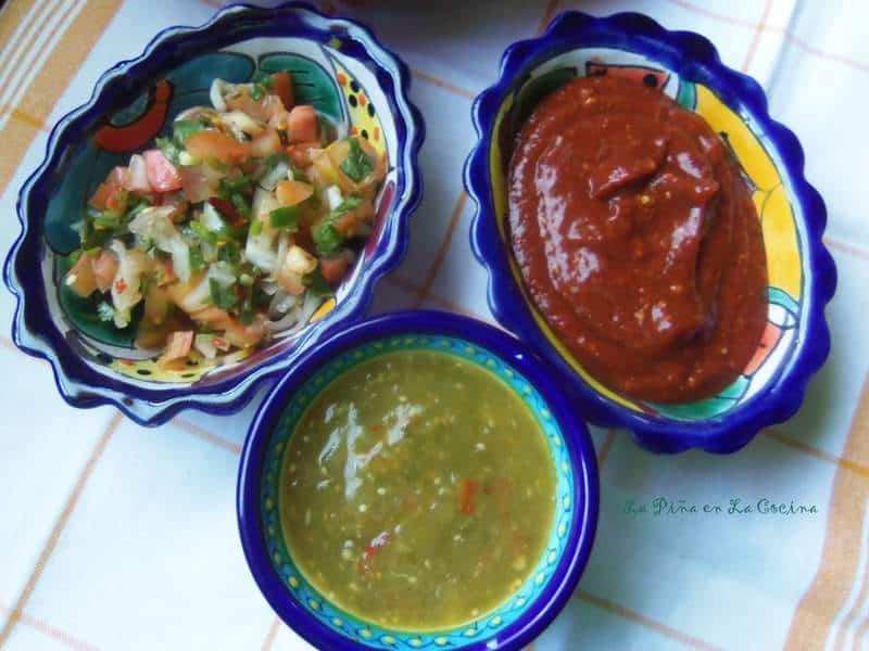 Favorite Salsa's For Babrbacoa #rumbameats #beefcheek #barbacoa