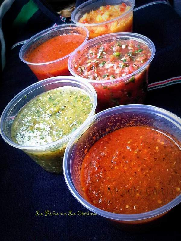 Salsa's! Cooked, Dry Roasted and Fresh!