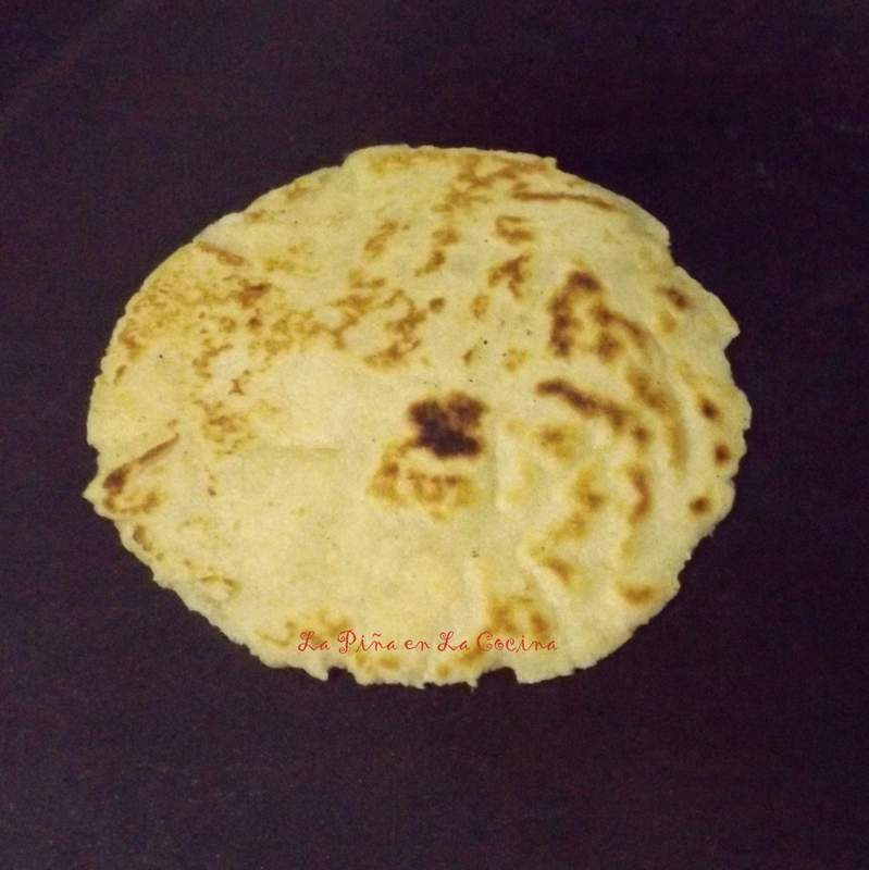 Soft Flour-Corn Tortilla