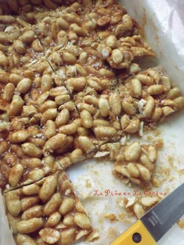 Palanqueta de Cacahuate(Mexican Peanut Candy)