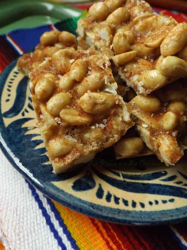 Palanquetas de Cachuate(Mexican Peanut Candy)