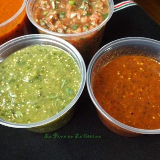 Salsa's~ Cooked, Dry Roasted and Fresh!