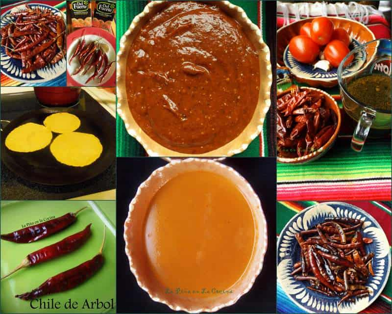 Chile de Arbol Salsa-Two Ways