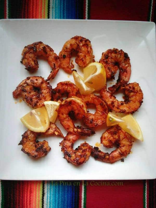 Spicy Shrimp in Chile Oil-Camarones Enchilados en Salsa de Aceite