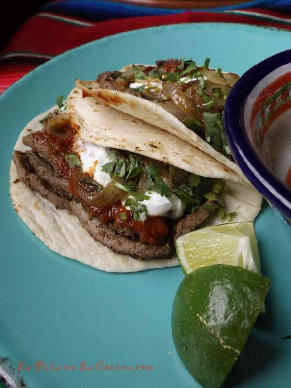 Easy Beef Tacos-Tacos Arabes Rapidos
