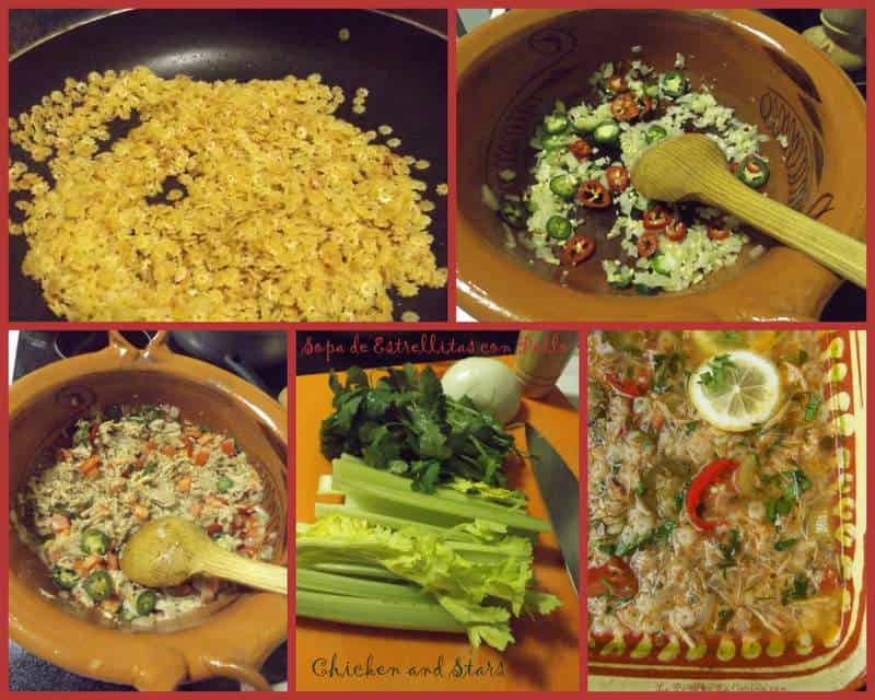 Sopa de Estrellitas Con Pollo-Chicken and Stars