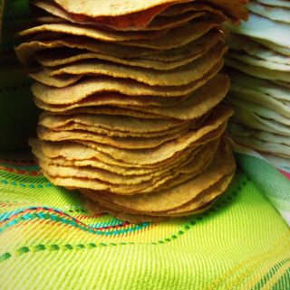 Taqueria-Style Corn Tortillas~ Less is More!